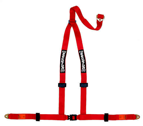 628/Red Seat Belt Harness