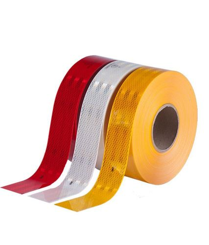 11.5m Amber Reflective Conspicuity Tape